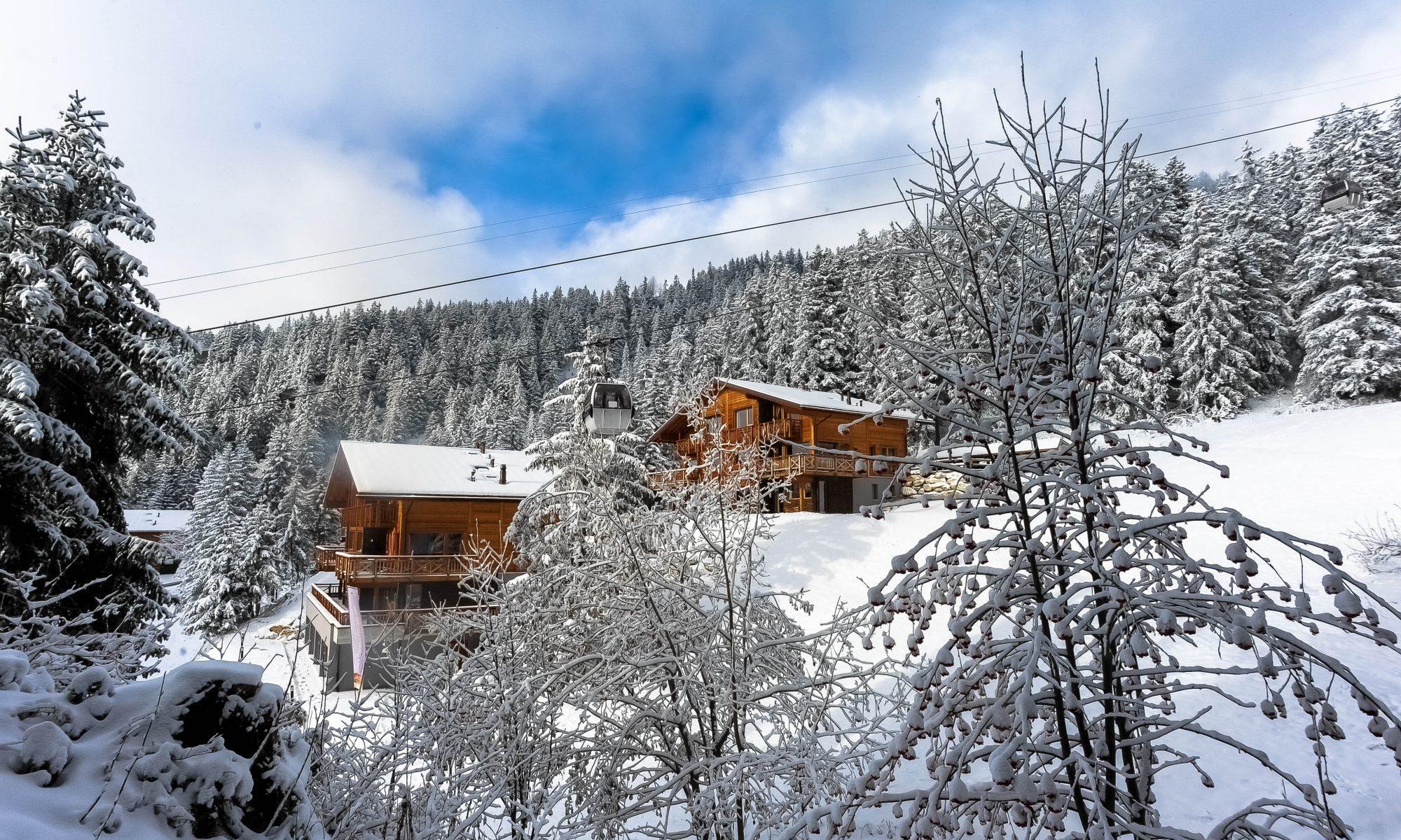 Exterior Chalet Crans Luxury Lodges