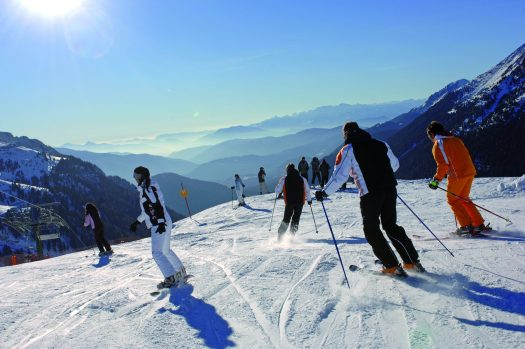 The pistes in Val di Fiemme are very well groomed and long. Photo courtesy: Val di Fiemme.