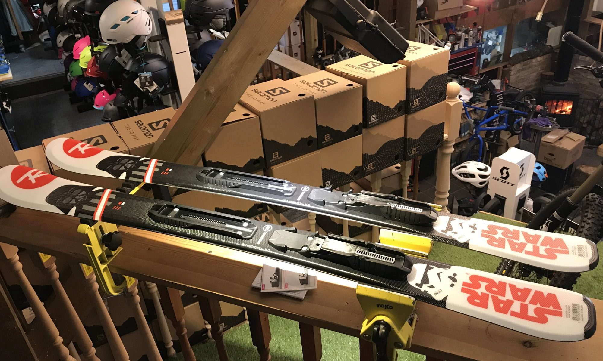 Buying skis for your kids - Finches Emporium - SE London, Forest Hill. Photo by The-Ski-Guru