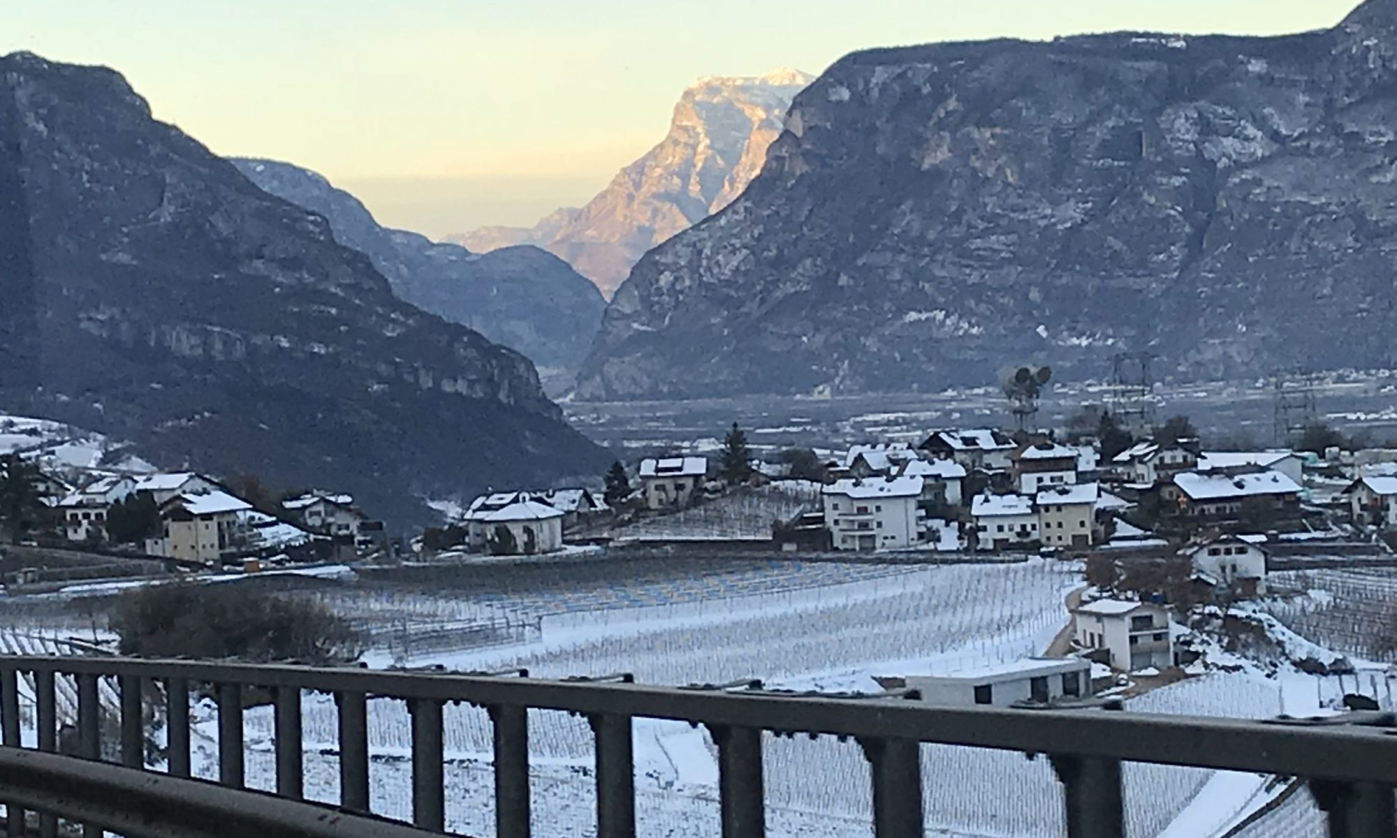 Coming from the winding roads of Val di Fiemme towards the Brennero route direction to Trento - Photo by The-Ski-Guru.