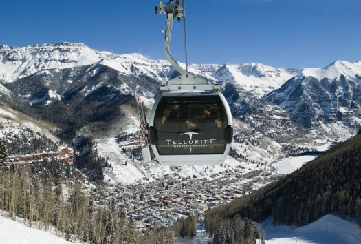 Telluride gondola - Photo by Telluride Ski Resort