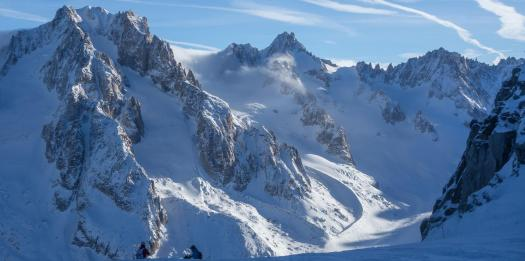 Chamonix - Grand Montets area