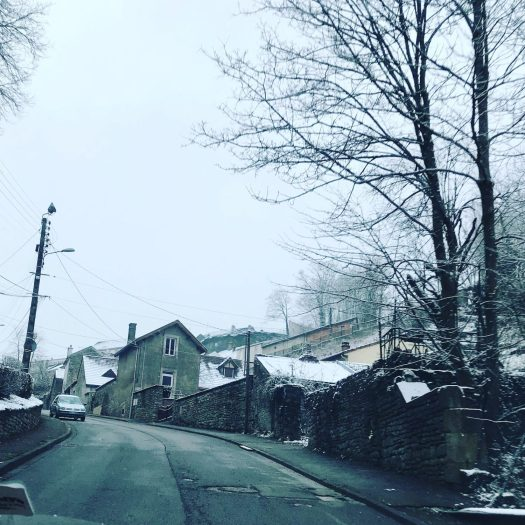 It has been snowing overnight in Chaumont - Bye bye Chaumont, see you in the summer. Photo by The-Ski-Guru