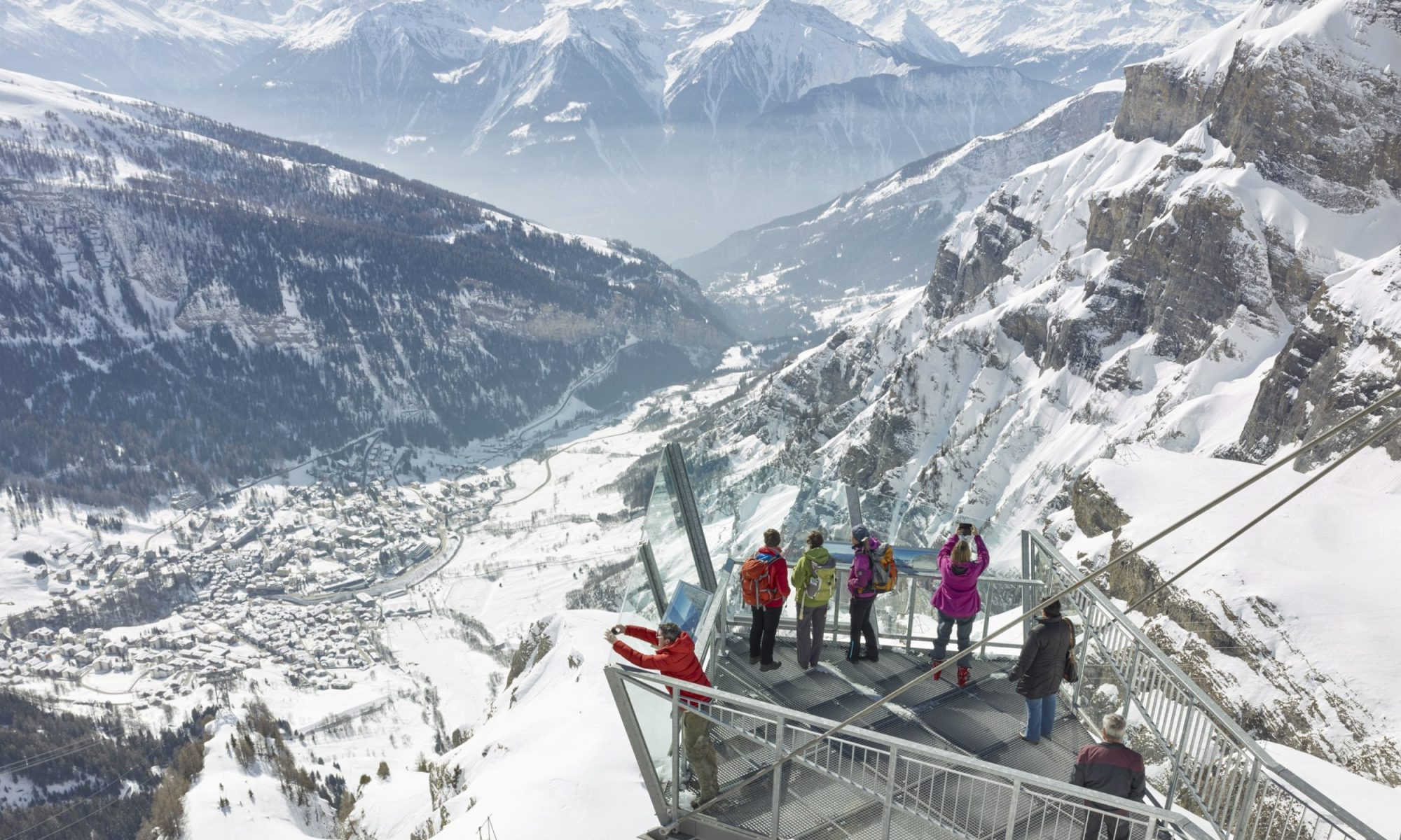 Leukerbad - a magnificent place in the Swiss Alps. Two more sport deaths in the Swiss Alps