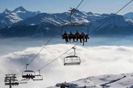 Crans-Montana is the most renown ski area in the Magic Pass.
