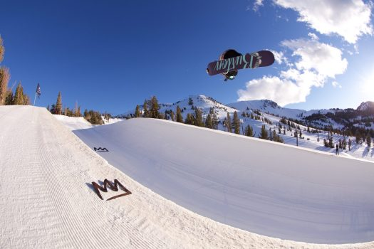 Mammoth half pipe - Photo by Alterra Mtn Co.