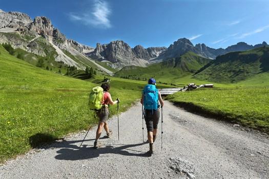 Val di Fassa - Gruppo dei Monzoni - Fuciade - Trekking. Fototeca Trentino Sviluppo S.p.A. - FOTO DI Arturo Cuel.
