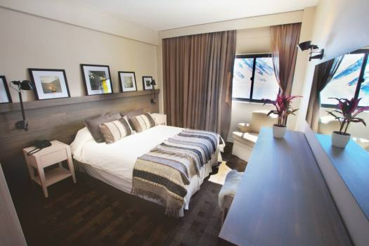 Rooms have been renovated at Hotel Portillo. Photo: Ski Portillo. What is new at Ski Portillo – expanded snowmaking, room renovations and special weeks