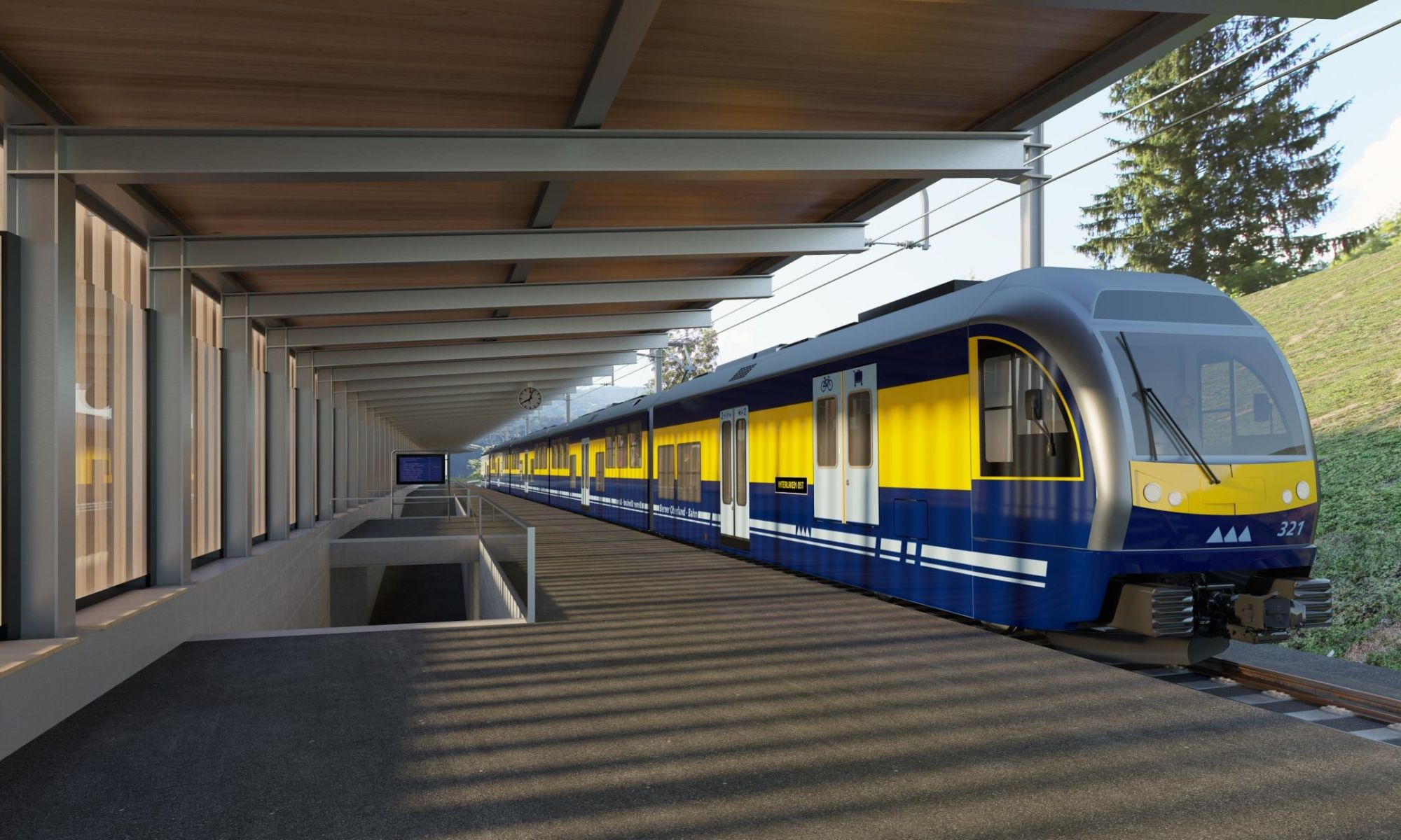 Jungfrau v-bahn railway project gets green light.