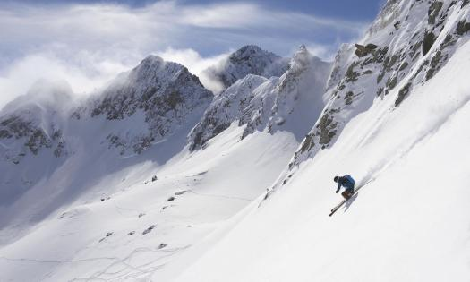 Les Trois Vallées, an amazing expanse of pistes and off-pistes to challenge any type of skier.