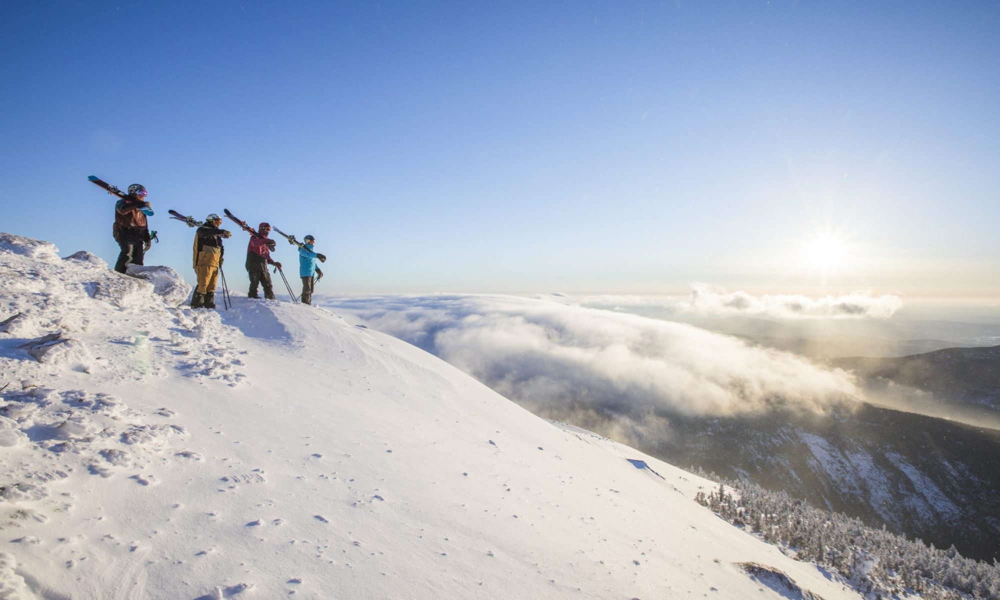 Sugarloaf, now on the IKON Pass. JWalter Photo.