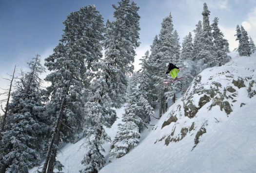 Taos is a favourite for those looking for some steep runs such as Kachina Peak.