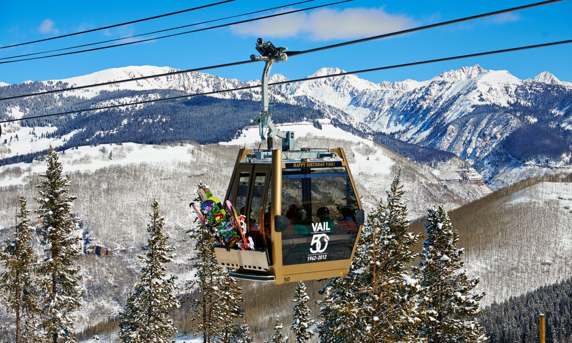 Gondola One - Gold Cabin - photo by Jack Affleck - Vail Mountain. Vail Snow Days is back.