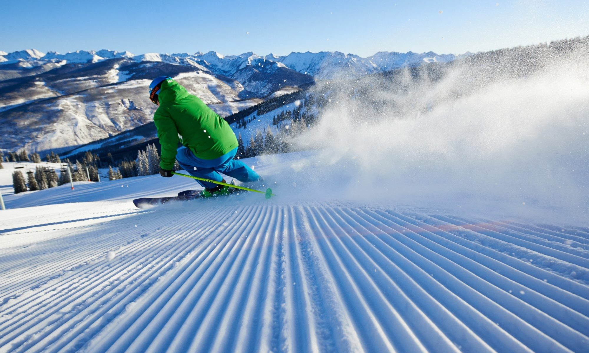 A groomed run in Vail Mountain. Photo- Jack Affleck. Vail Resorts Commits to $175 Million to $180 Million in Capital Investments to Reimagine the Guest Experience for the 2019-20 Season