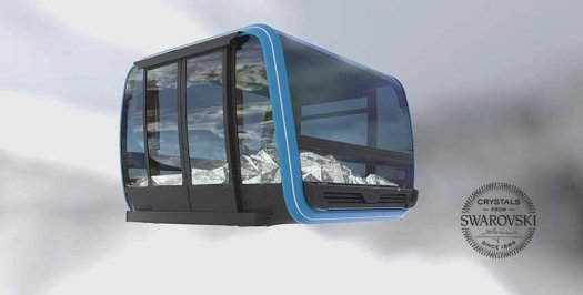 The new star of Zermatt Bergbahnen for this ski season- the Matterhorn Glacier Ride.