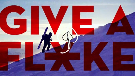 The Give a Flake campaign that Aspen has launched as a political campaign this season.