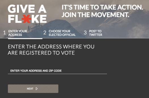 Give a Flake is planning to create a social media viral campaign to create activists in climate change and human rights.