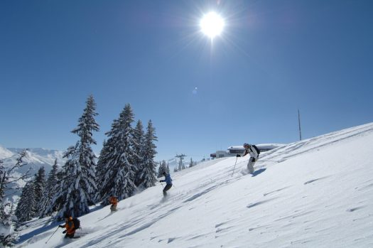 Rellerli- Skifahren- What is new in Gstaad for the 2018-19 ski season. Photo: Gstaad tourism office.