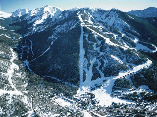 The ski area of Taos.  Photo: Ski Taos. Taos Regional Airport Launches Taos Air – an Air Service to Dallas, Austin.