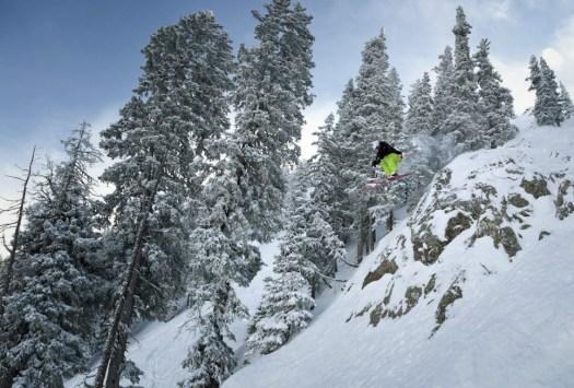 Skiing in Taos. Photo: Ski Taos. Taos Regional Airport Launches Taos Air – an Air Service to Dallas, Austin.