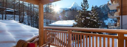 Views from Chalet Banja. Matterhorn Chalets.