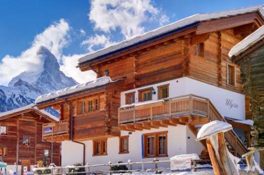 Chalet Ulysse exterior - Matterhorn chalets.