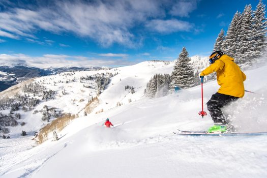 Tom Cohen Photo. Vail Resorts. Vail opens Legendary Back Bowls.