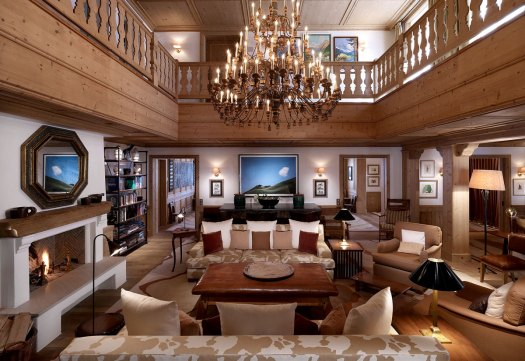 Aurelio Chalet's living room. Photo: Aurelio Hotel and Chalet. The Must-Read Guide to Lech.