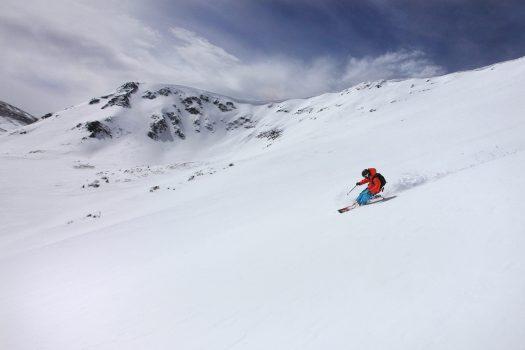 Breckenridge powder. Peak 6. Photo: Nate Zeman. Breckenridge Ski Resort. Breckenridge Ski Resort Announces Plans to Regularly Extend Winter Seasons through Memorial Day, Beginning this Spring.