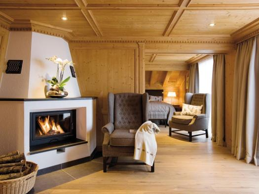 A suite at the Burg Vital. The Must-Read Guide to Lech.