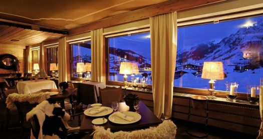 Kristiana Lech- enjoy a cuppa with magnificent views outside. The Must-Read Guide to Lech.