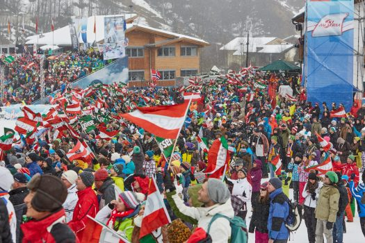 Saalbach Audi FIS Ski World Cup. Ski World Cup: Saalbach is in the Starting Gates.