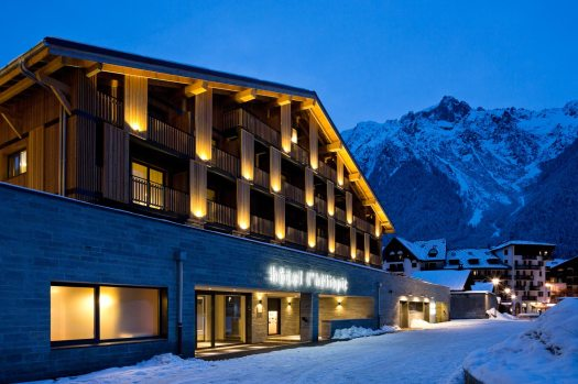 Exterior at L'Héliopic. Book your stay at L'Héliopic here. Must-Read Guide to Chamonix.