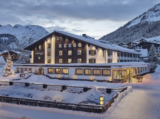 Hotel Arlberg exterior - Photo Alex Kaiser. The Must-Read Guide to Lech.