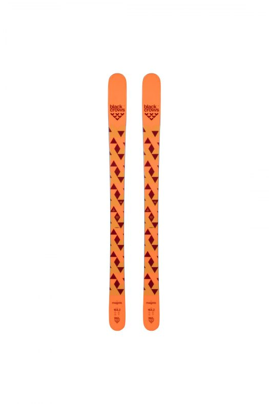 Top of Magnis skis. Black Crows response for junior skis.