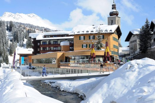 The Romantik Hotel di Krone von Lech is very well located next to the ski slopes. The Must-Read Guide to Lech.
