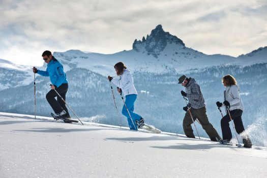 Snowshoeing in Cortina. Photo www.bandion.it. Cortina Marketing. Cortina D'Ampezzo is gearing up for a great winter season and the 2021 Ski World Championships.