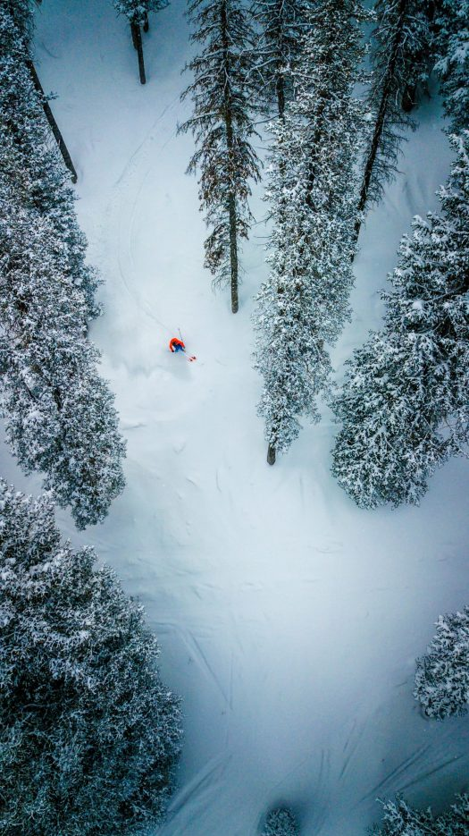 Deer Valley from a drone. Photo: Deer Valley Resort. Deer Valley who was awarded Best US Ski Resort by the World Ski Awards for the sixth year, opens this Saturday December 8th.