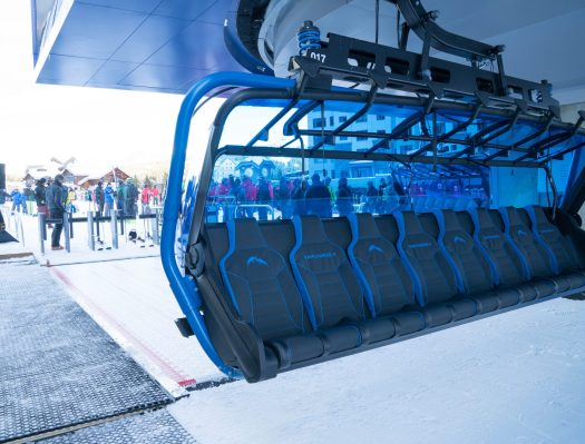 Photo: Ed Coyle. Big Sky Resort. World's Most Technologically-Advanced Chairlift Debuted at Big Sky Resort.