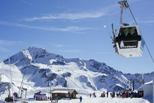 SubliCime - La Plagne. Photo: Elina Sirparanta. What is new at La Plagne for the 2018 – 19 ski-season.