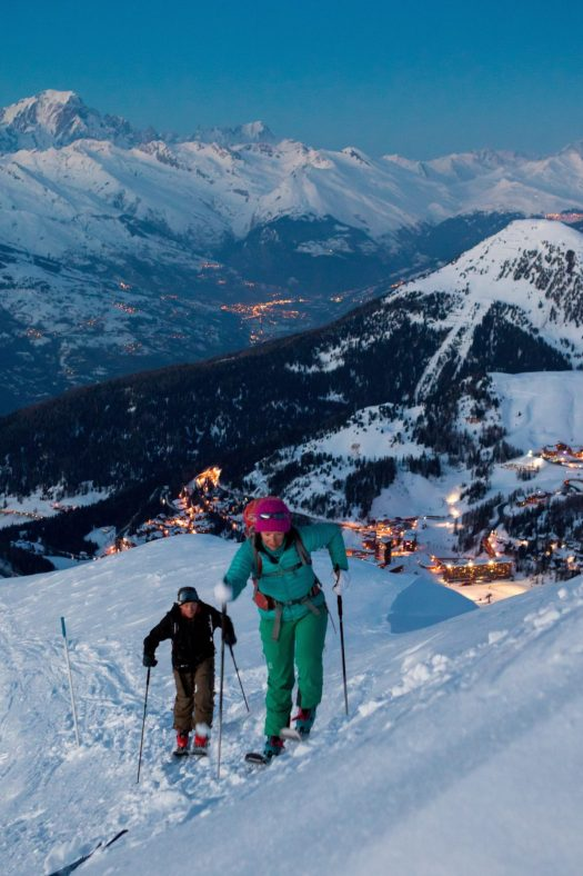 Ski de Randonnée at La Plagne. What is new at La Plagne for the 2018 – 19 ski-season.