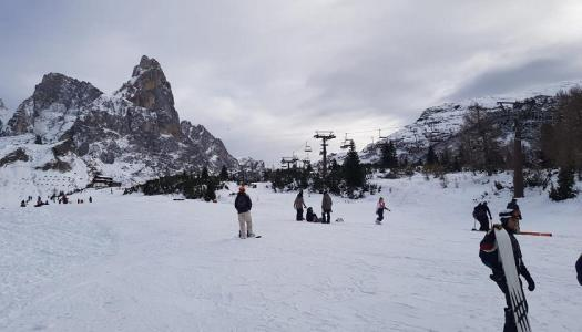 The Ferrari Chairlift has been reopened in record time at Passo Rolle, after being sabotaged.