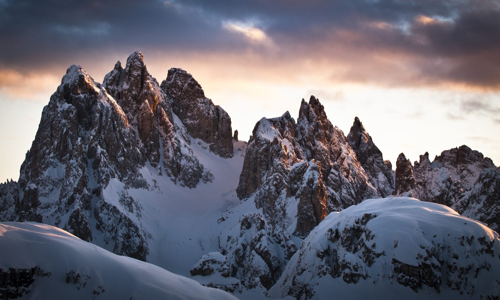 The-Ski-Guru Travel takes you to a Long Ski Safari in the Dolomites. Photo: Giuseppe Ghedina.