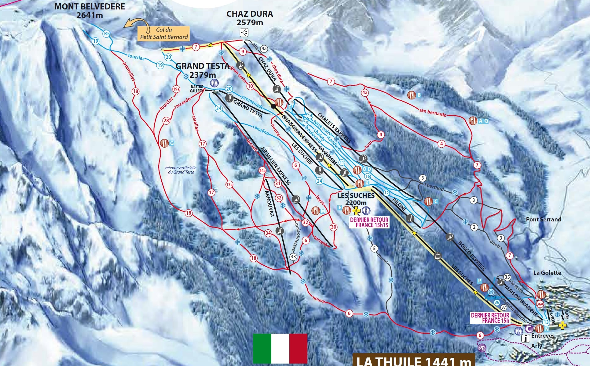 7 killed as helicopter and light aircraft crash over the Ruitor Glacier near La Thuile in the Italian Alps