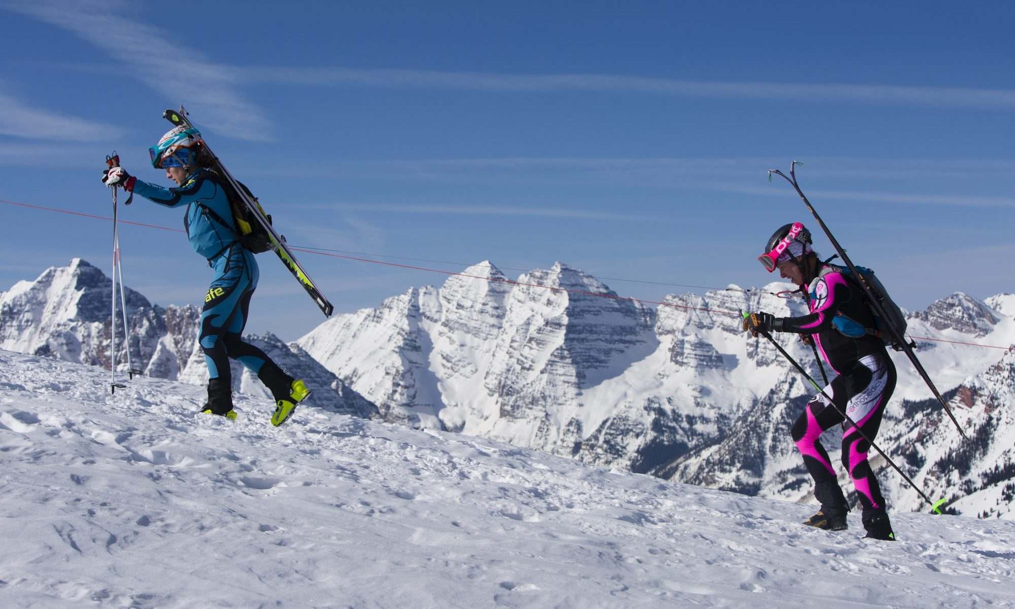 Audi Power of Four Ski Mountaineering Race Mar. 2-3 - New United States Ski Mountaineering Association National Championship. Photo courtesy of Aspen Skiing Company.