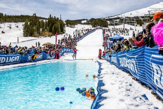 The Breck Plunge. Photo: Vail Resorts. Breckenridge Ski Resort Announces Plans to Regularly Extend Winter Seasons through Memorial Day, Beginning this Spring.