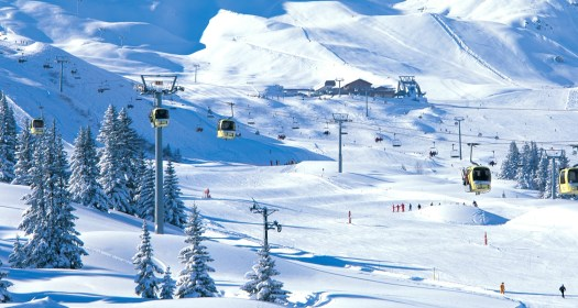 The very renown ski area of Courchevel should be in everyone's bucket list. Deadly fire at Courchevel 'may have been arson'