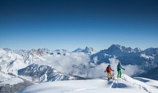 The-Ski-Guru Travel takes you to a Long Ski Safari in the Dolomites, Photo: Giuseppe Ghedina.