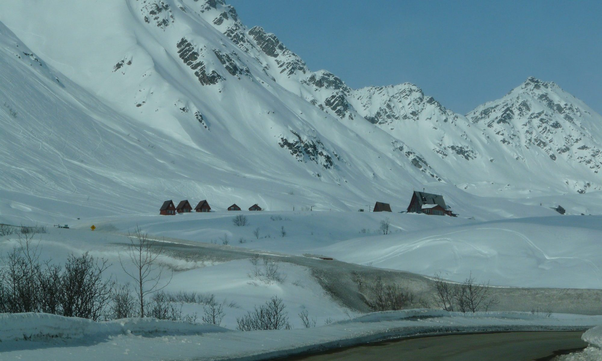 Hatcher Pass in Winter, where Skeetawk resort will be developed. Skeetawk ski area gets funding for first ski lift.