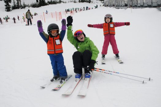 Mt Hood Meadows. Learn to Ski and Snowboard. First National Learn to Ski and Snowboard Day in the US.